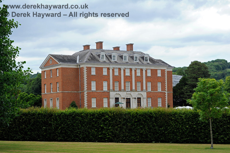 Chevening House, looking north from the outer part of the grounds.  22.06.2014  9671