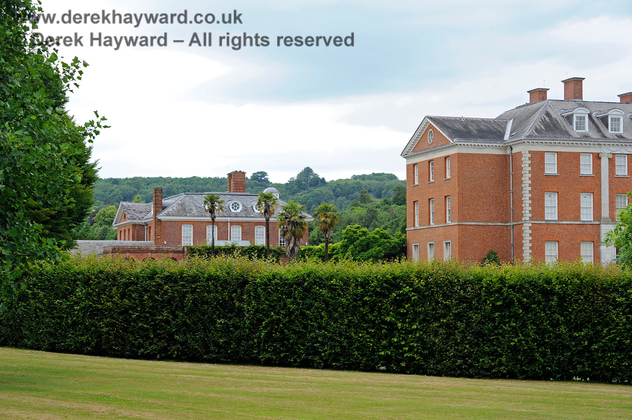 Chevening House, looking north from the outer part of the grounds.  22.06.2014  9672