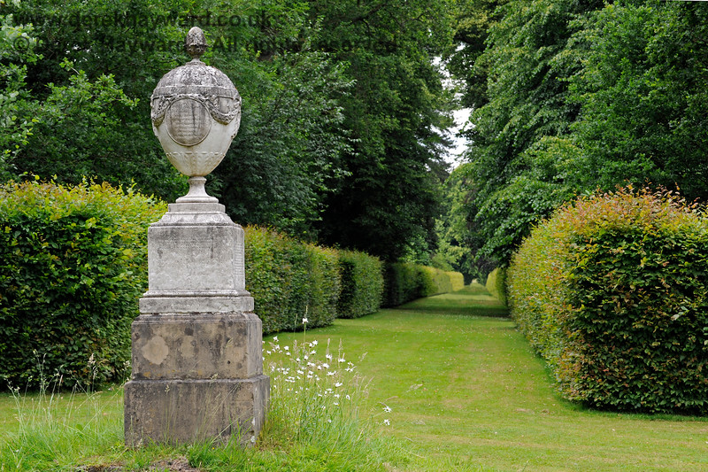 The Chatham Vase, in position at Chevening.  22.06.2014  9625