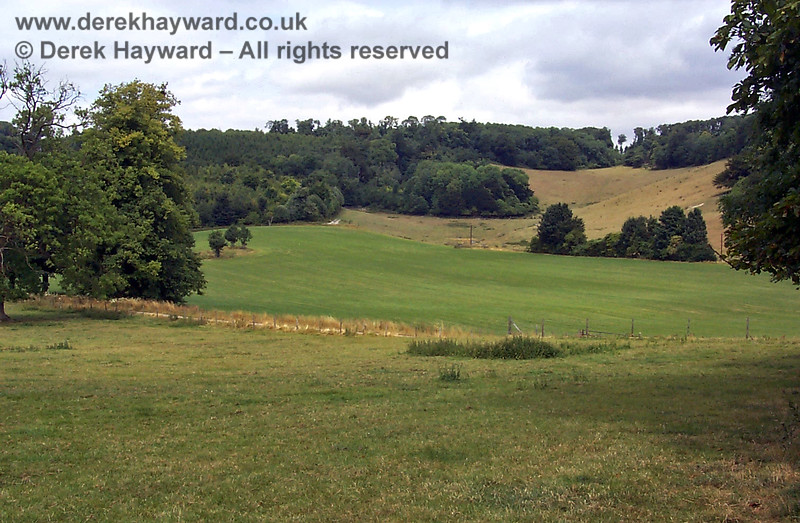 Chevening Estate looking north to the Knockholt ridge.