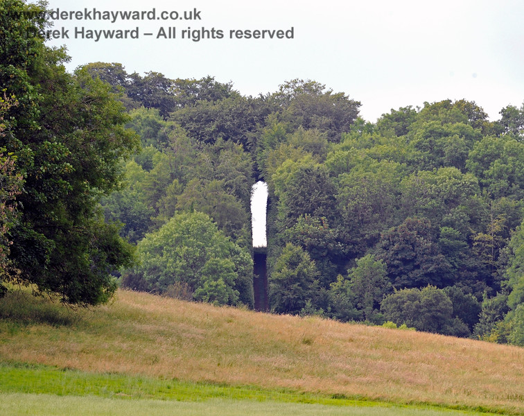 Chevening Estate looking north to The Keyhole.  22.06.2014  9696