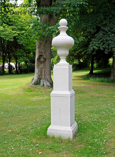 A monument (no inscription) on the Long Walk, Chevening Estate. 22.06.2014  10687