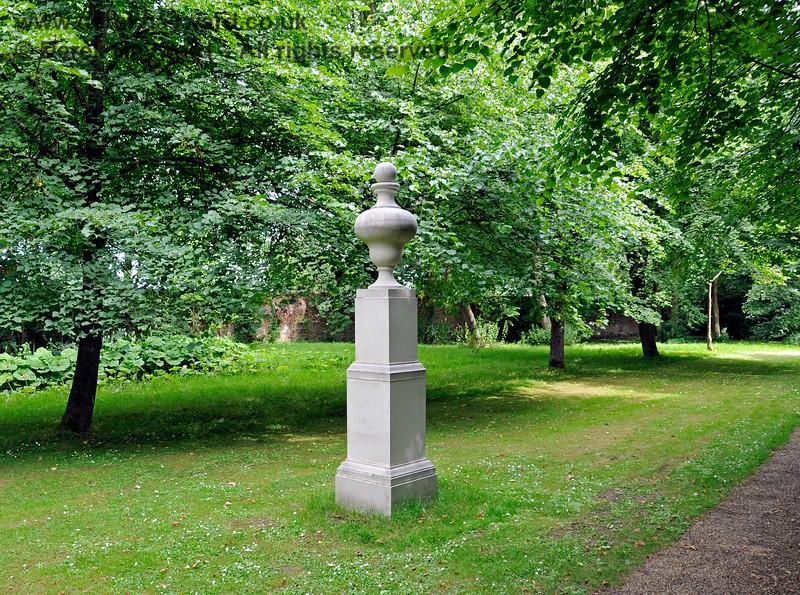 A monument (no inscription) on the Long Walk, Chevening Estate. 22.06.2014  10695