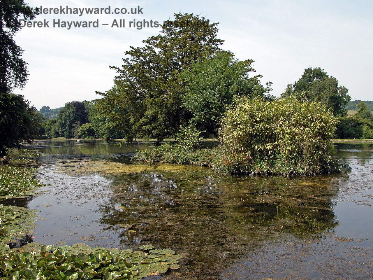 The Lake, Chevening House.  15.06.2003