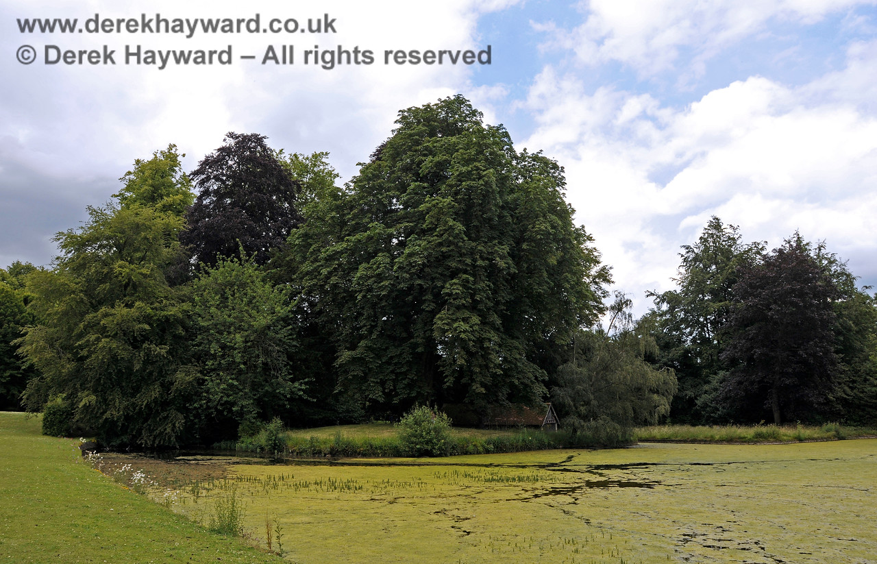 The Lake, Chevening House.  22.06.2014  10734