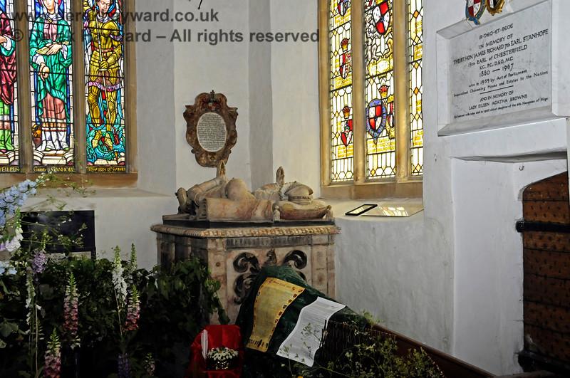 Inside the Stanhope Chantry (Chapel), St Botolphs Church, Chevening.  19.06.2015  12803