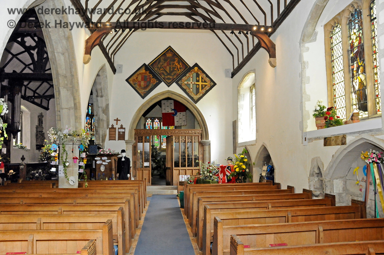 The South Aisle of St Botolphs Church, Chevening.  19.06.2015  12793