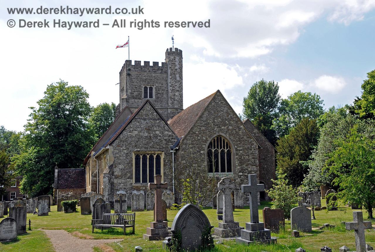 St Botolphs Church, Chevening.  19.06.2015  12883