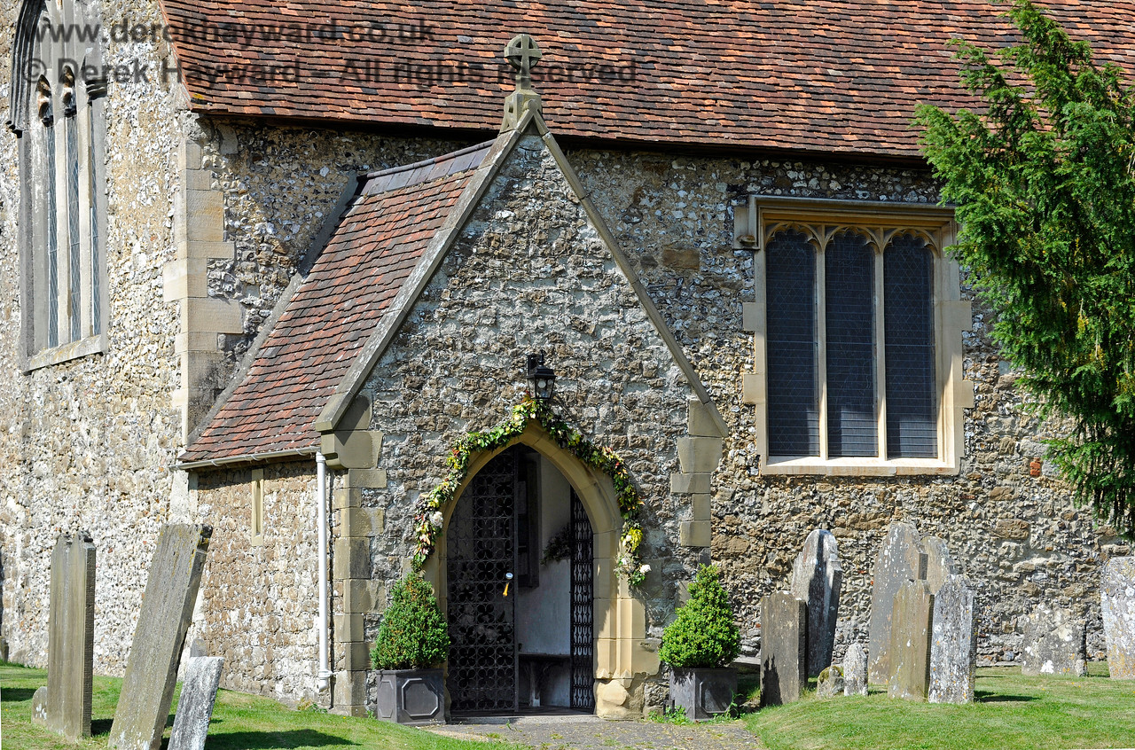 The South Porch of St Botolphs Church, Chevening.  19.06.2015  11397