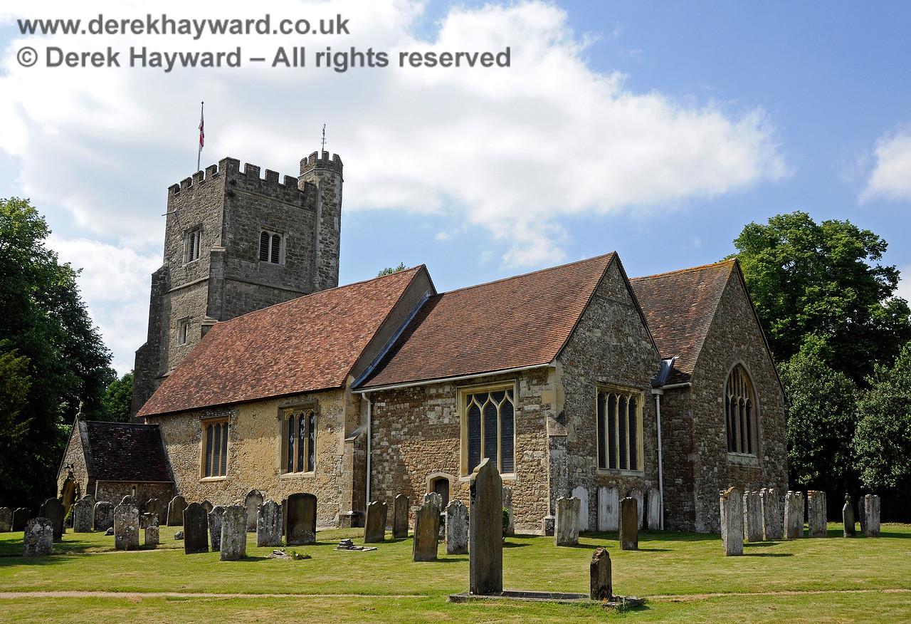 St Botolphs Church, Chevening.  19.06.2015  12879