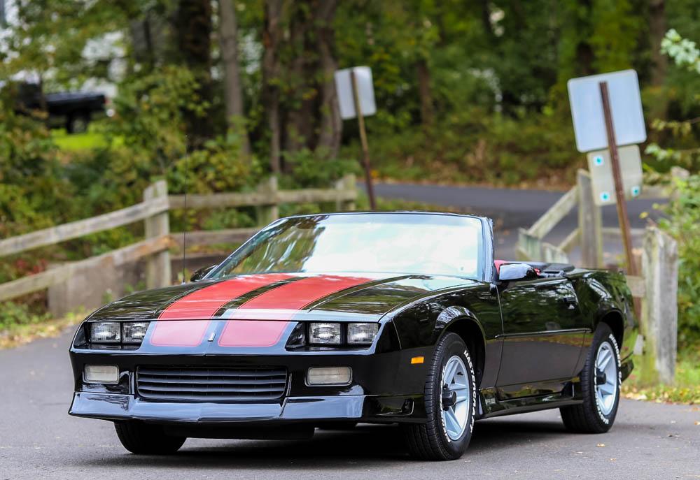 1991-Chevrolet-Camaro-Camaro-Leather-5SP-Manual-Convertible-48K-mi-CARFAX