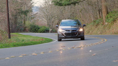2017 Chevrolet Cruze RS Premier Driving Footage