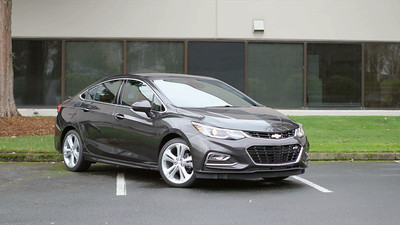 2017 Chevrolet Cruze RS Premier Parked Footage