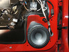 "Aftermarket speaker and speaker adapter from  <a href=""http://www.car-speaker-adapters.com/items.php?id=SAK075""> Car-Speaker-Adapters.com</a>  installed on door"