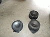 """Comparison: <br> Left: Aftermarket speaker and speaker adapter from  <a href=""""http://www.car-speaker-adapters.com/items.php?id=SAK075""""> Car-Speaker-Adapters.com</a>  <br>  Right: Factory speakers"""