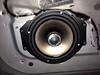 "Aftermarket speaker and speaker adapter bracket  from  <a href=""http://www.car-speaker-adapters.com/items.php?id=SAK055""> Car-Speaker-Adapters.com</a>"