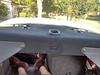 Rear dash view