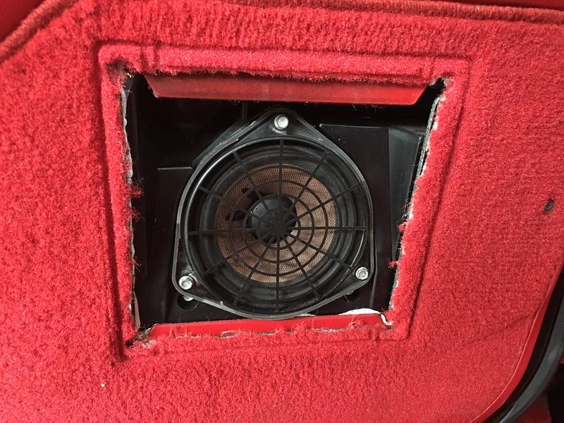 Bose factory speaker and enclosure
