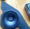 "Aftermarket speaker installed in speaker adapter  from  <a href=""http://www.car-speaker-adapters.com/items.php?id=SAK114""> Car-Speaker-Adapters.com</a>"