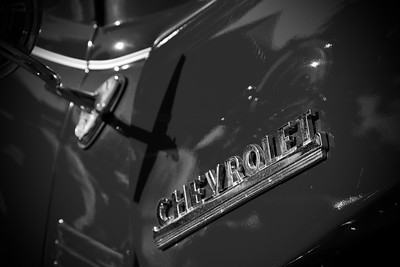 Classic Chevy Badge