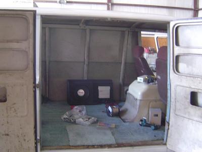 SABANDIT'S  66 Chevy Van