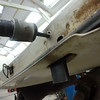 The large slide hammer made easy work of realigning the mounting surface, without damaging the outer door skin...