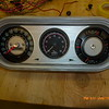 New full gauge instrument cluster (modified `65 Nova SS)...