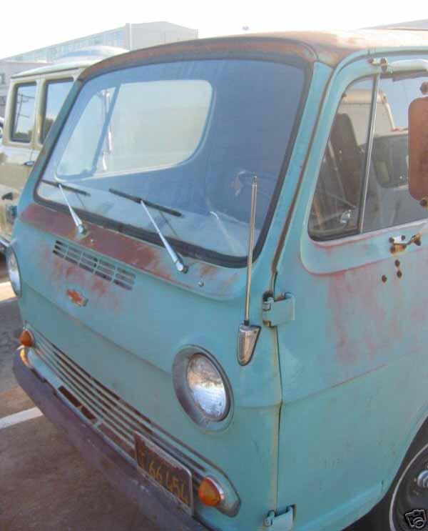 Wideload found this 1965 Chevy G20 on eBay!