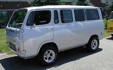 Billski's 66 Chevy Sport Van see more in Billski's gallery