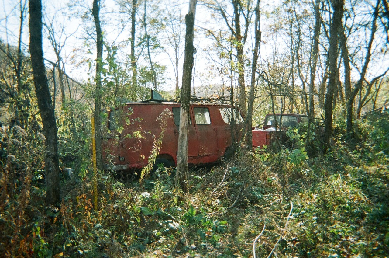 Hidden in the woods for over 20 years.