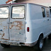 Thanksgiving day, 2012. This is what the top and back doors looked like. Luckily all light surface rust.