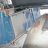 Drivers side seat mount.  Fabrication by Defined Engineering, Yorba Linda CA.