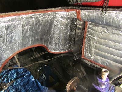 Engine bay insulation