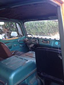 Original aqua/blue interior.