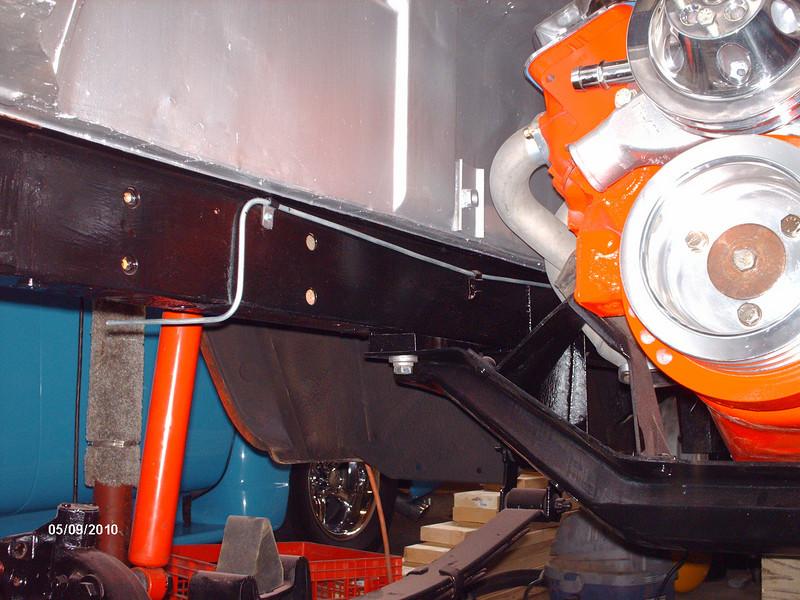 pass side brake line plumbing