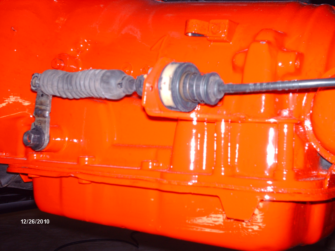 shifter cable is out of an early 90`s chevy S-10 blazer with auto on the floor, cable is about  8 feet long
