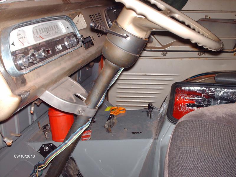 2nd column housing on a 1st gen steering gear