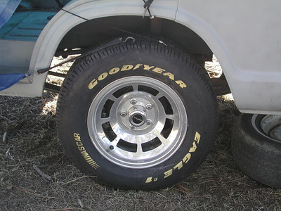 82 Vette Wheels with new Goodyear Eagles all around!