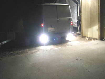 Donivan installed Back up Lights ........................