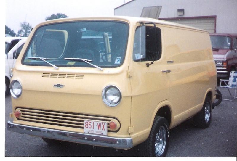 1965 Chevrolet Van at Butler Pa. Van Shiow