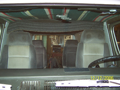Front view of 4 seats in 67-90.