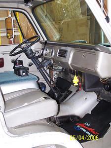 Inside 67-90 before adding Fiero seats.