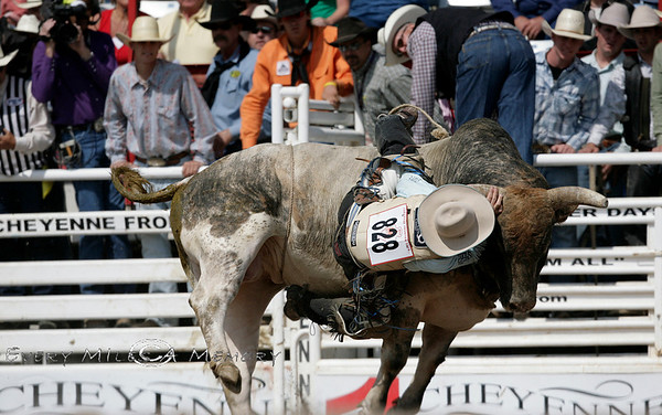 Bull Riding @ Cheyenne Frontier Days Rodeo 2009