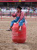 Clownin' Around - Cheyenne Frontier Days Rodeo - Photo by Pat Bonish