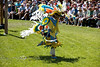 Native American Dancing in the Indian Village - Cheyenne Frontier Days Rodeo - Photo by Pat Bonish