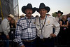 Bob & Mike getting Ready for the Kellie Pickler Concert - Cheyenne Frontier Days Rodeo - Photo by Pat Bonish