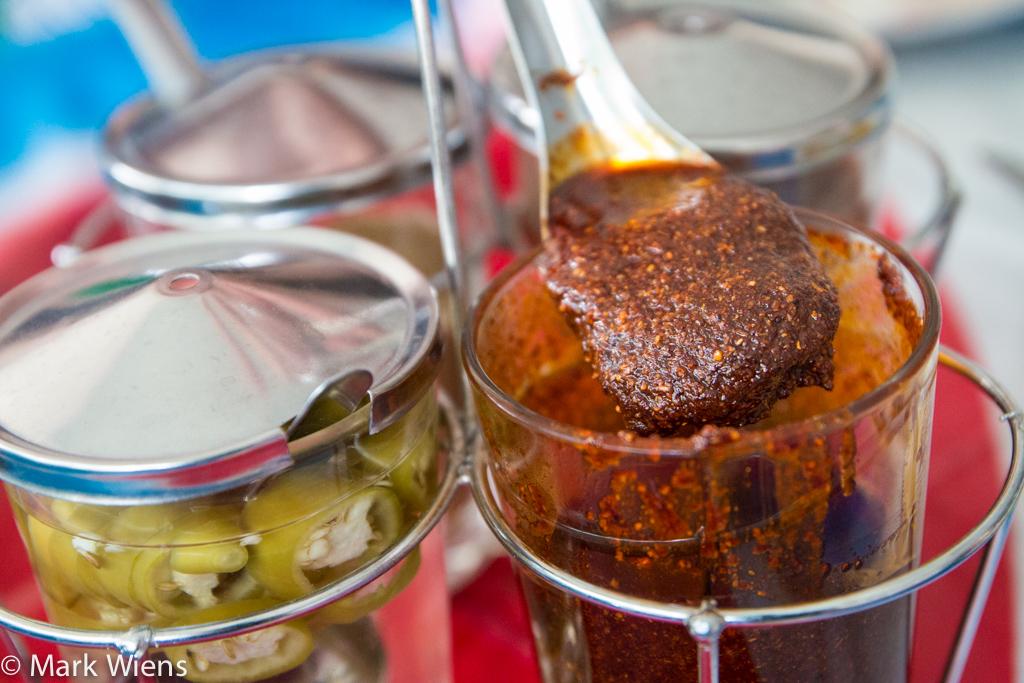 Roasted chili sauce