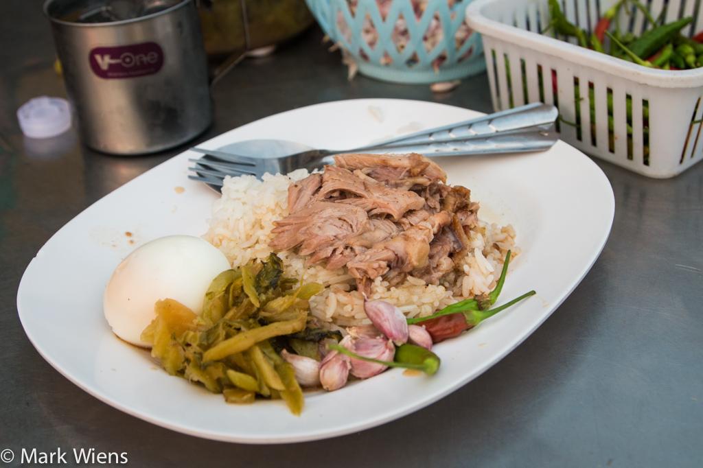 Thai khao kha moo