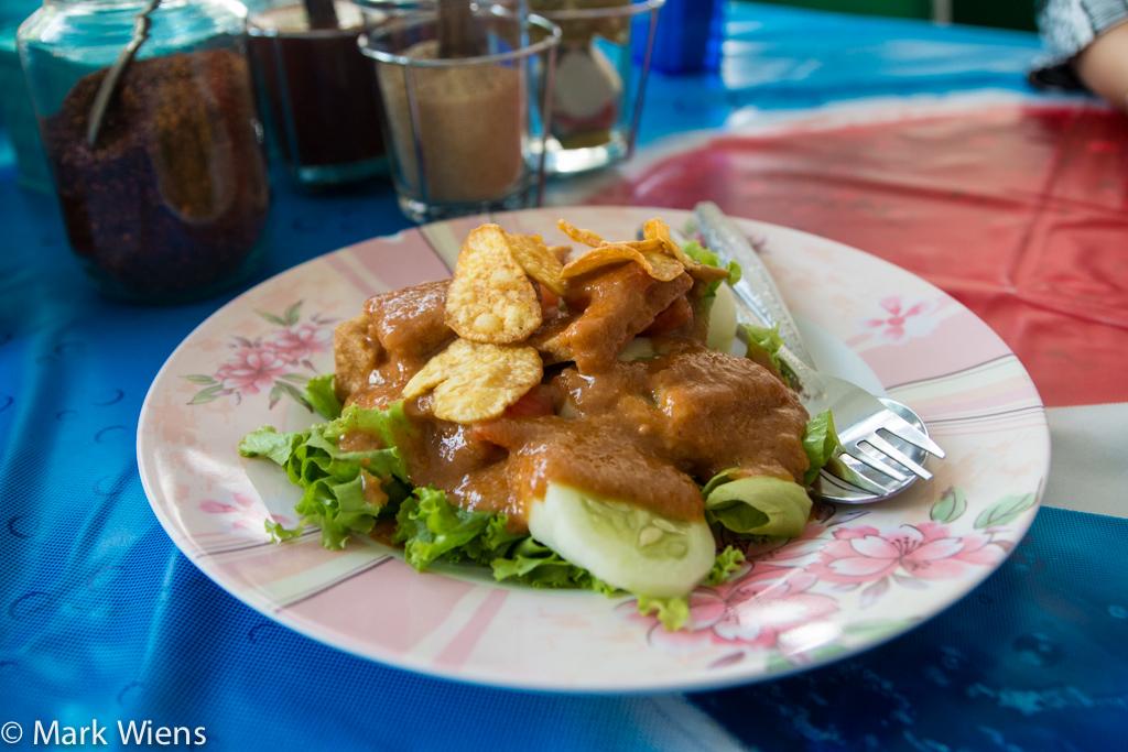 Salad kaek (สลัดแขก)