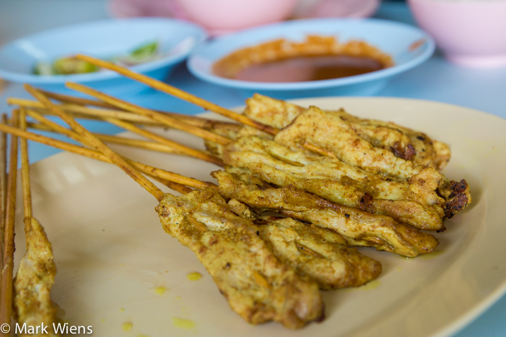 Thai satay